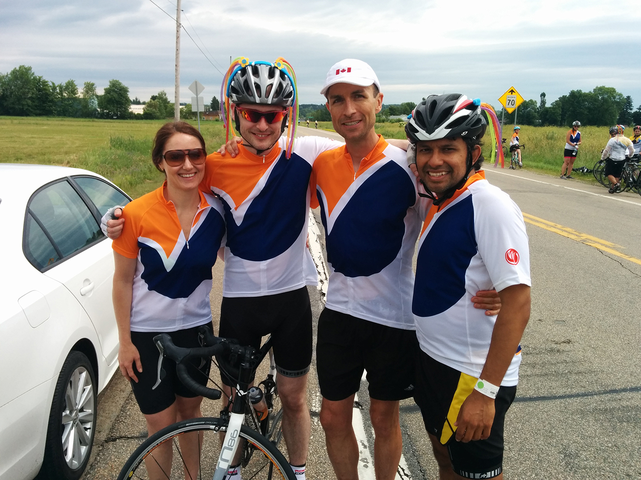 Vigilant Global Employees Went Above and Beyond in Ride to Conquer Cancer
